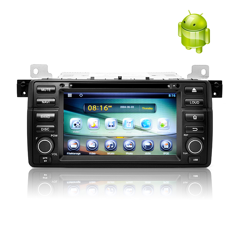 (M) 1 DIN Android 4.2 Car DVD Player for BMW E46 (M)