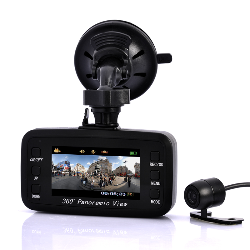(M) Wide Angle Car Camera + Black Box - Road View (M)