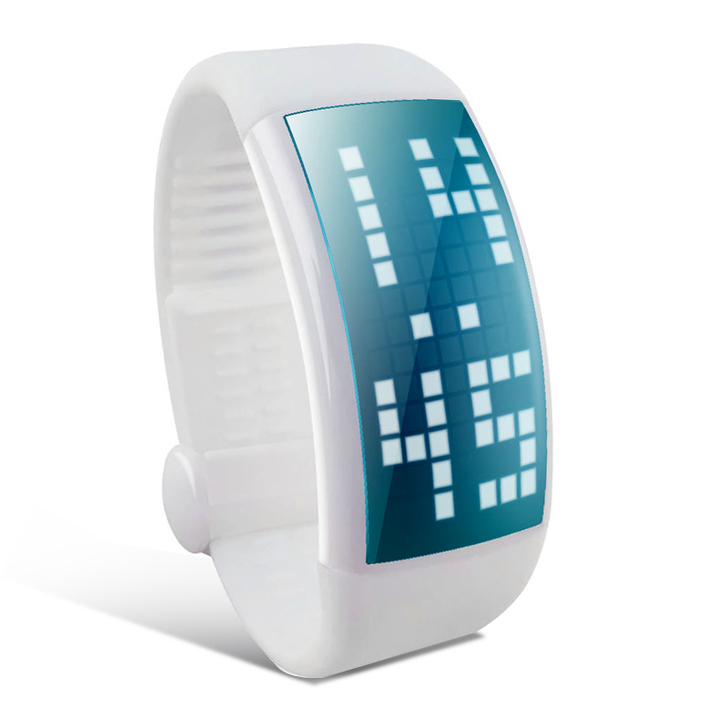 (M) Pedometer Wrist Watch (M)