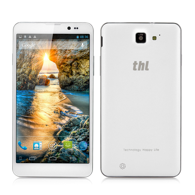 (M) thl T200 MTK6592 True Octa-Core Phone (White) (M)