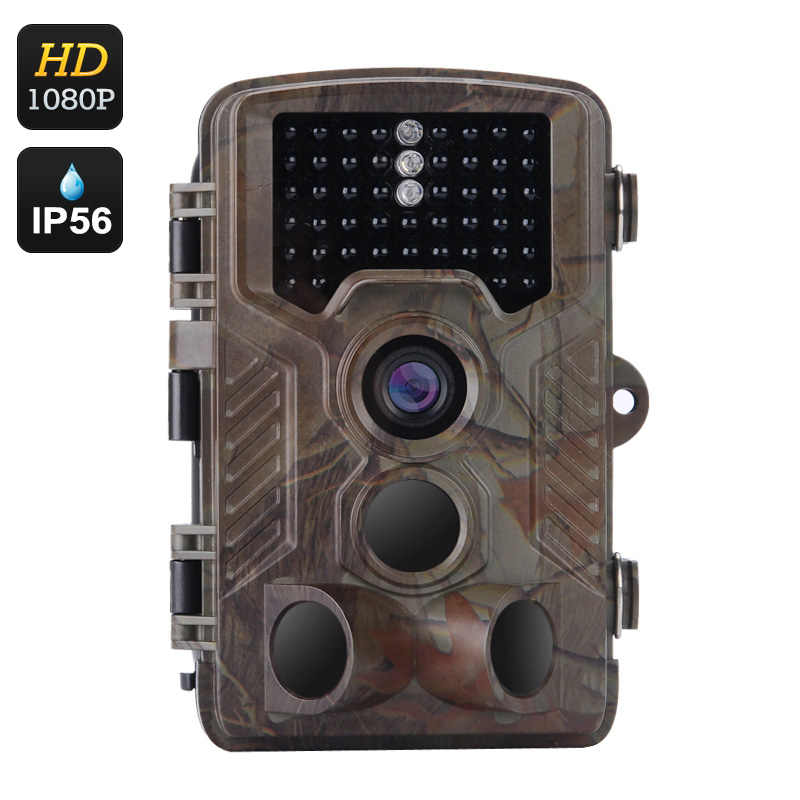 Full HD Game Camera - 1080P Video, 1/3 Inch CMOS, 16 Month Standby, 0.6 Second Trigger Time, 2.5 Inch Display, IP56