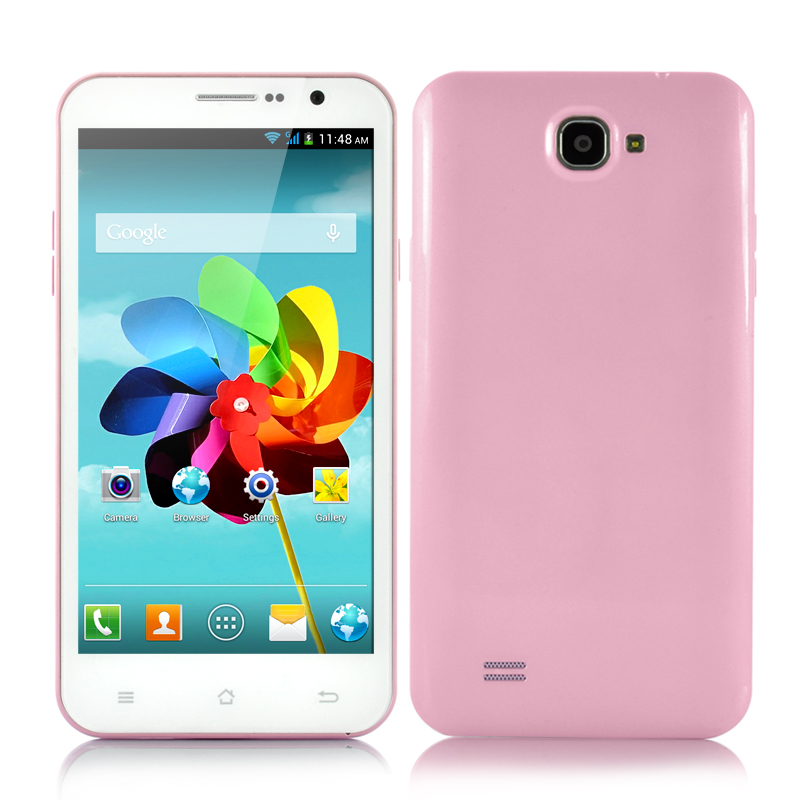 (M) Quad Core Android Phone (Pink) (M)