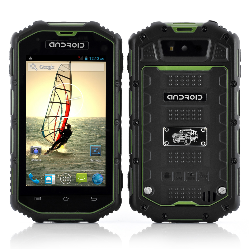 (M) Rugged Android Dual Core Phone (Green) (M)