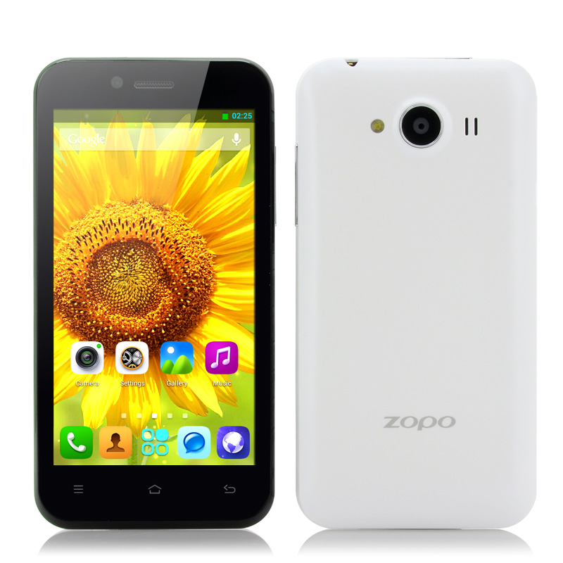 (M) ZOPO ZP600+ 4.3 Inch 3D Android Phone (W) (M)