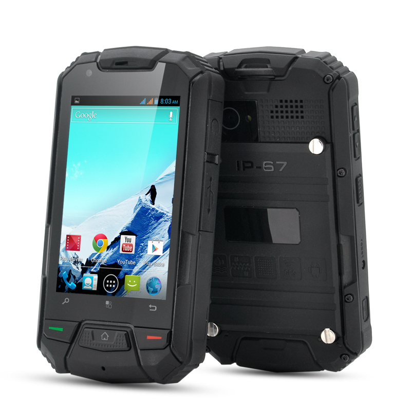 (M) 3.5 Inch Rugged Android Phone - Gaur II (M)