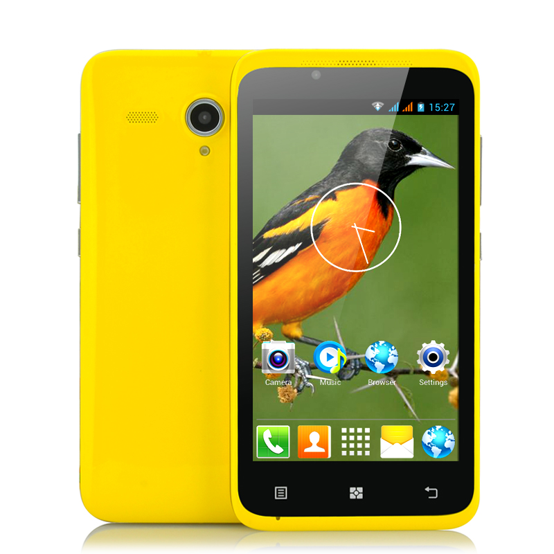 (M) 4.5 Inch Budget Android 4.2 Phone -Oriole (Y) (M)