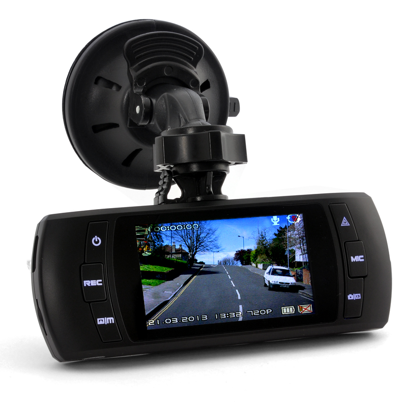(M) 2.7 Inch Car DVR w/ GPS, G-Sensor, 120 Degree (M)