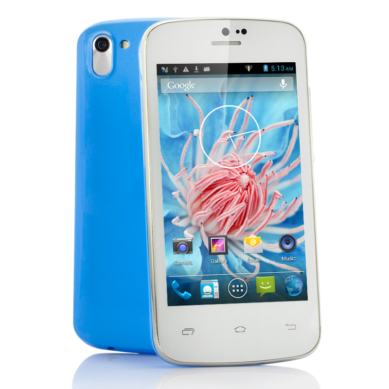 (M) 4 Inch Slim Android 4.2 Phone - Clematis (BL) (M)