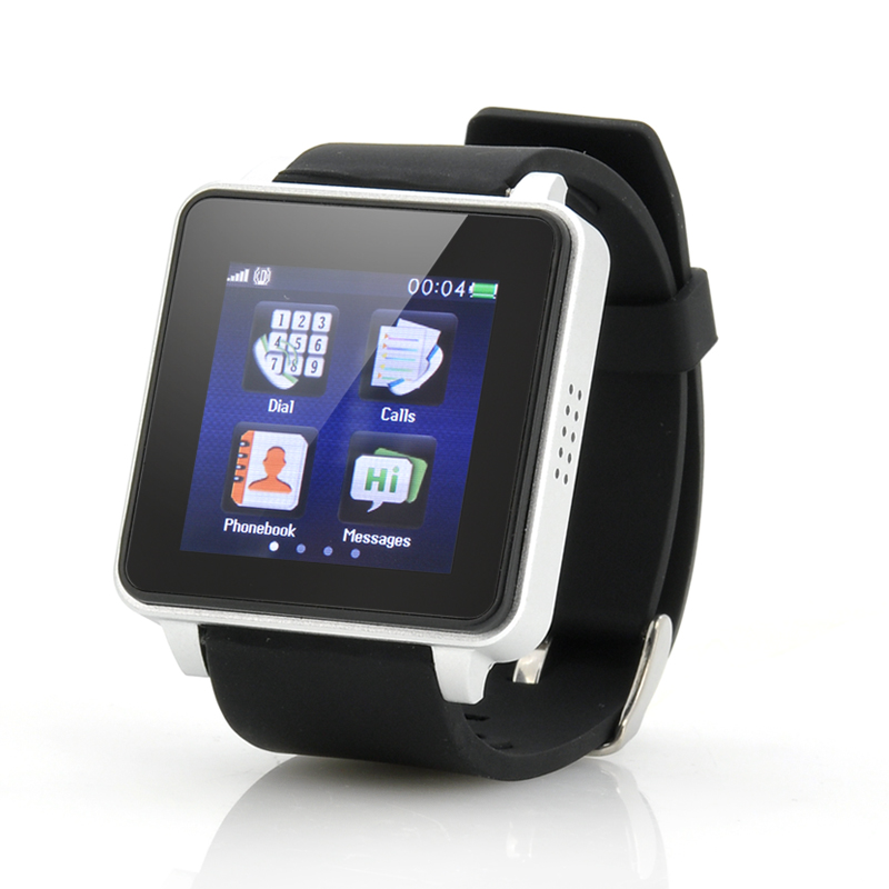 (M) 1.54 Inch Touch Screen Phone Watch - Bolt (M)