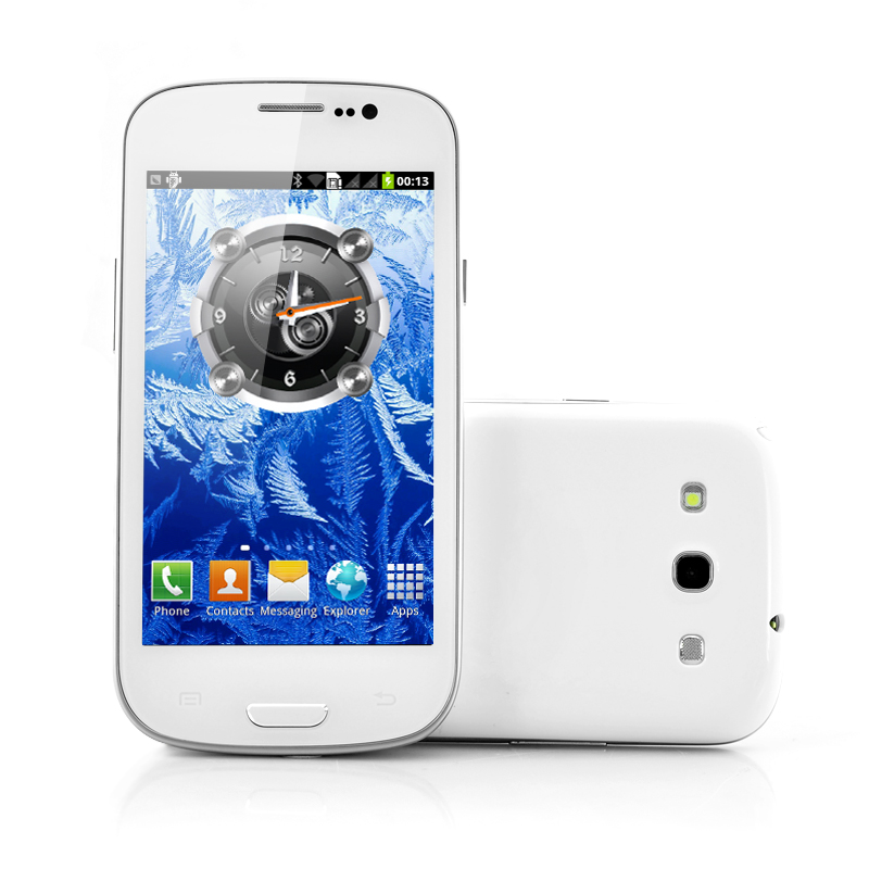 (M) Budget Android Phone - Frost (M)