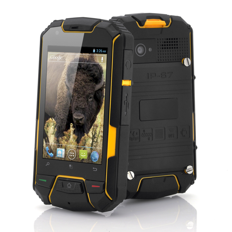 (M) 3.5 Inch Rugged Android Phone - Bison II (M)