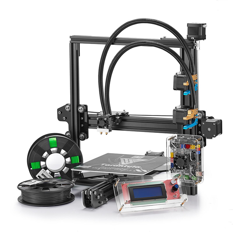 Tevo Tarantula Prusa I3 3D Printer - Wide Filament Range, Large Building Size, Offline Print, High Precision, Dual-Color Print