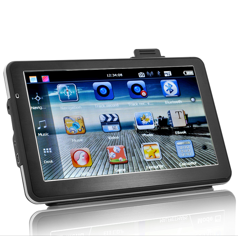 (M) Portable Car SatNav with DVR (M)