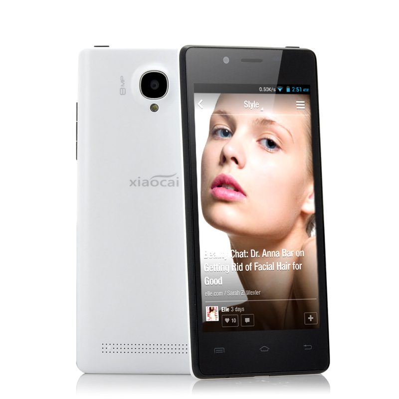(M) XiaoCai X9 Thin 4.5 Inch Android Phone (W) (M)