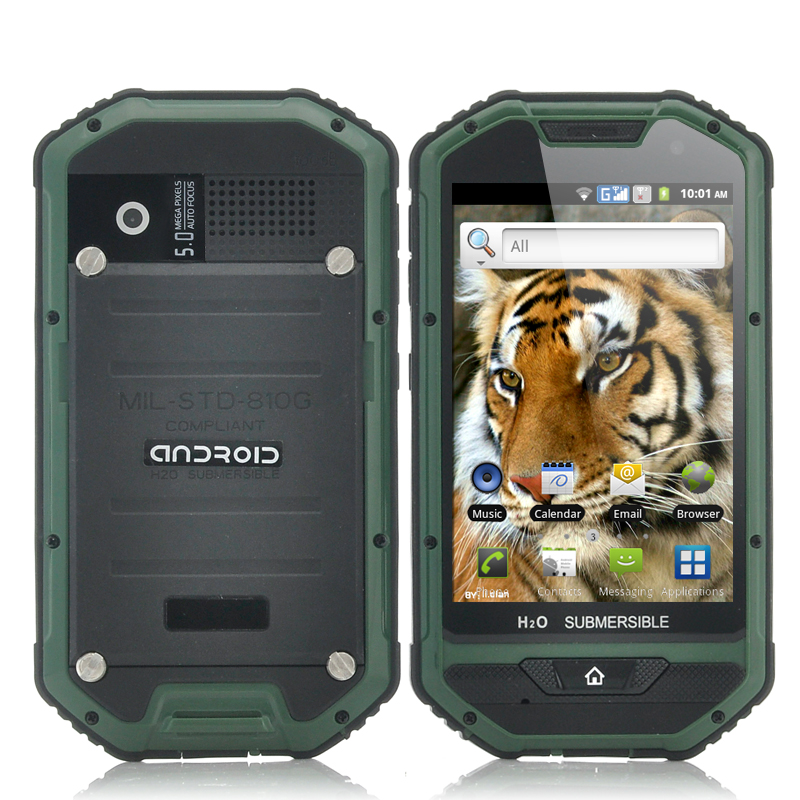 (M) Rugged 4 Inch Android Phone - Mastodon II (M)