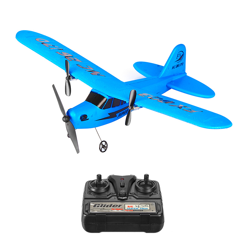 RC Airplane - Light Weight, 150mAh Battery, Remote Control, 120m Flight Distance, 13 Minutes Flight Time