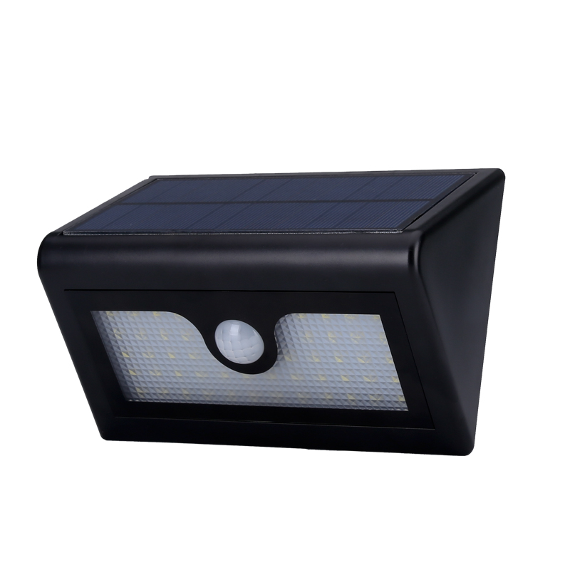 outdoor led solar powered security light 480 lumen. Black Bedroom Furniture Sets. Home Design Ideas