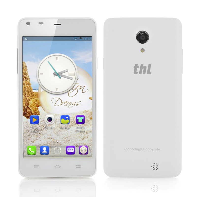 (M) thl T5S 3G 4.7 Inch Android Phone (White) (M)
