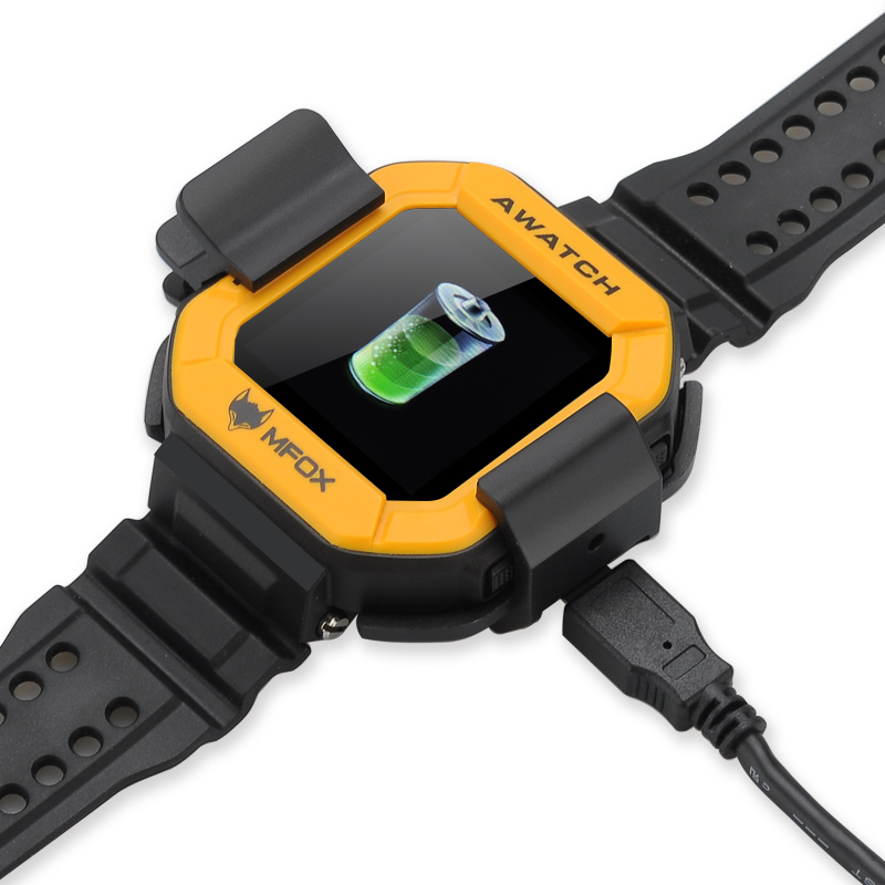 Mfox Awatch Ip68 Heart Monitor Watch Android 4 3 Os