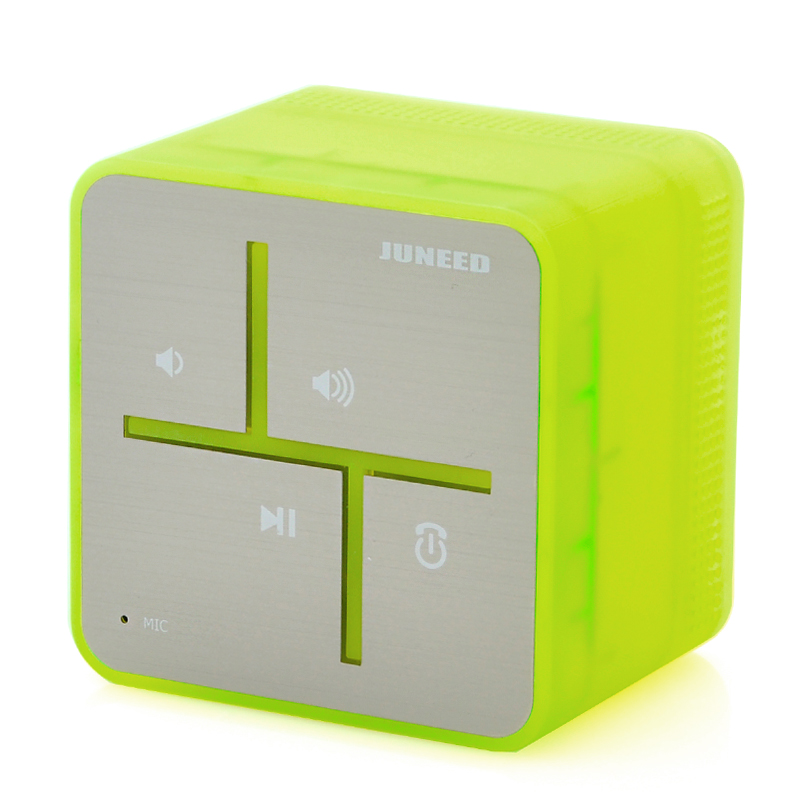 (M) Portable Bluetooth Speaker w/ Mic - Juneed (M)