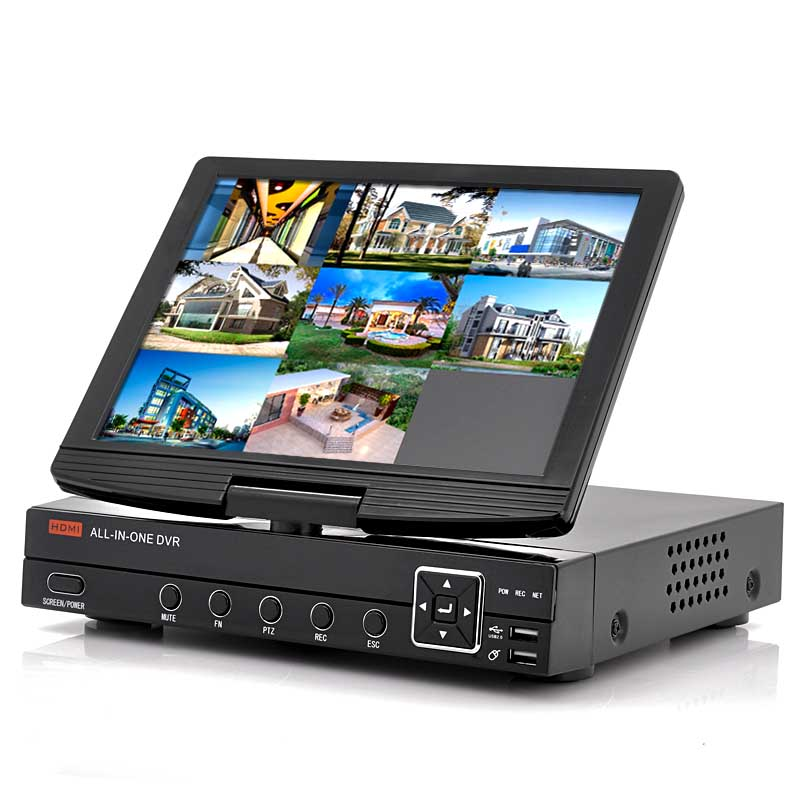 (M) 8CH DVR With 10 Inch Flip Out Screen (M)