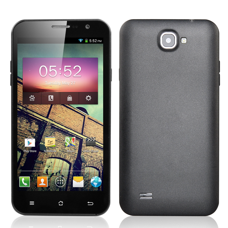 (M) 5.3 Inch Quad Core Android Smartphone (Grey) (M)