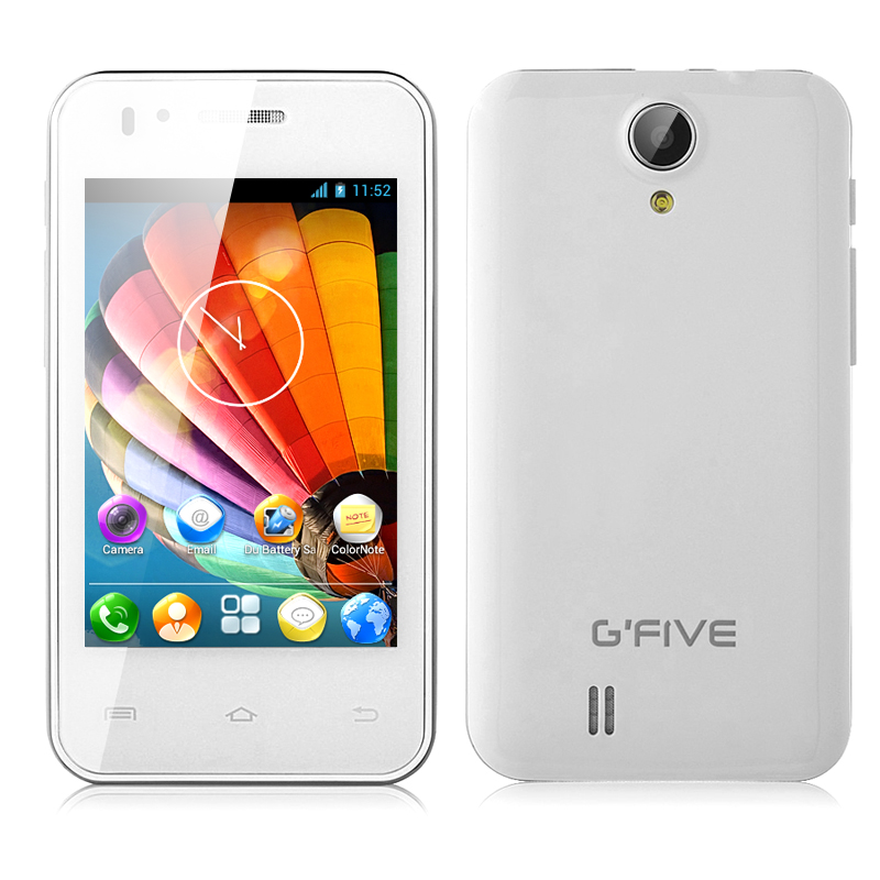 (M) G'FIVE X1 Android Mobile Phone (White) (M)