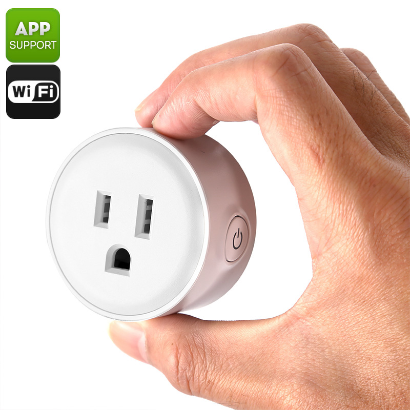 Smart WiFi Plug - Type-B USA, WiFi, App Support, iOS, Android