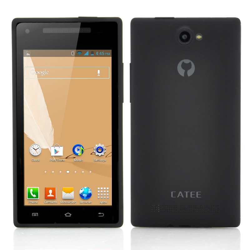 (M) Catee CT200 MTK6572 Phone (Black) (M)