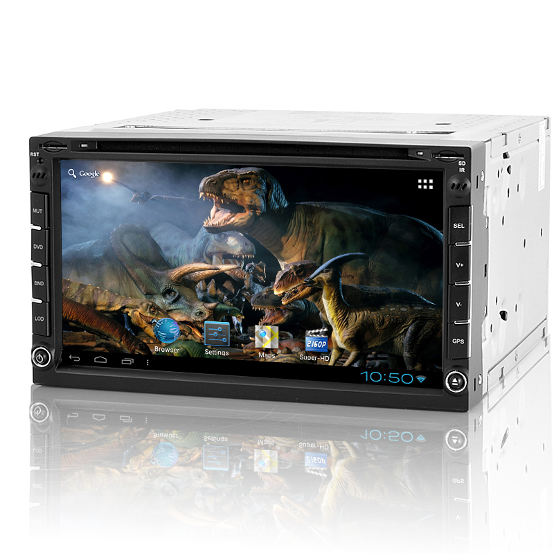 (M) 2 DIN Android Car DVD Player - Roadasaurus  (M)
