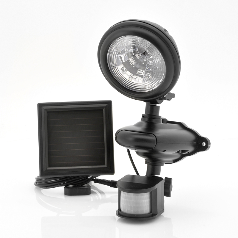 (M) Solar Powered LED PIR Security Light (M)