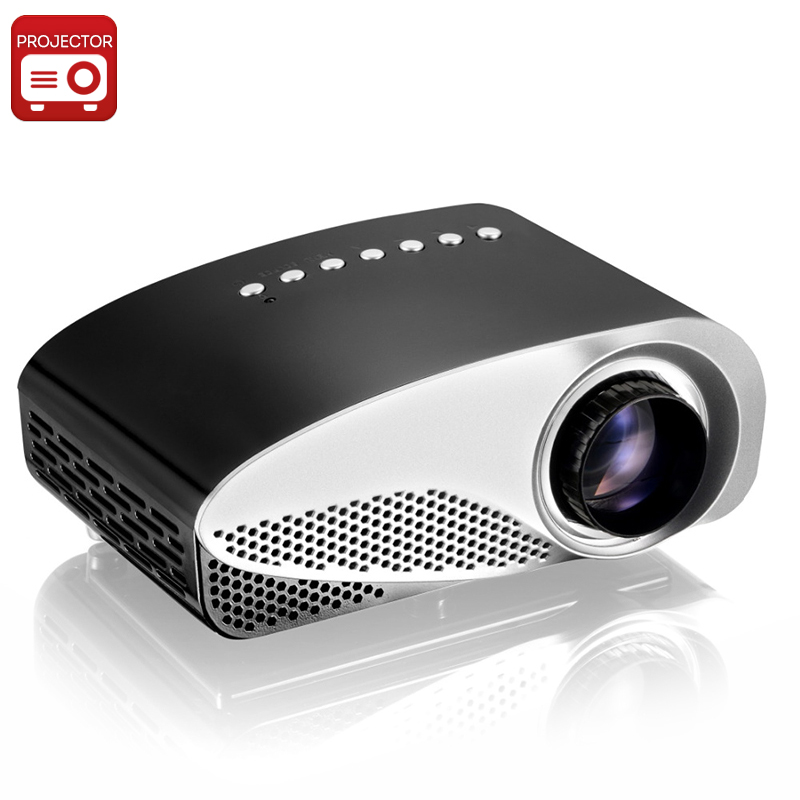 'Simple'' Mini Projector - 1080p Support, 500:1 Contrast Ratio, 50 Lumen, Manual