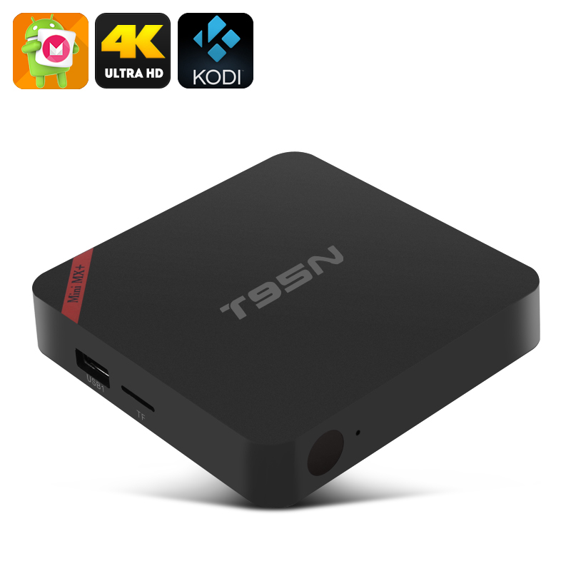 T95N-MINI MX+ Android TV Box - 4K, Android 6.0, Amlogic S905X, Kodi, HDMI, 1GB RAM + 8GB Memory