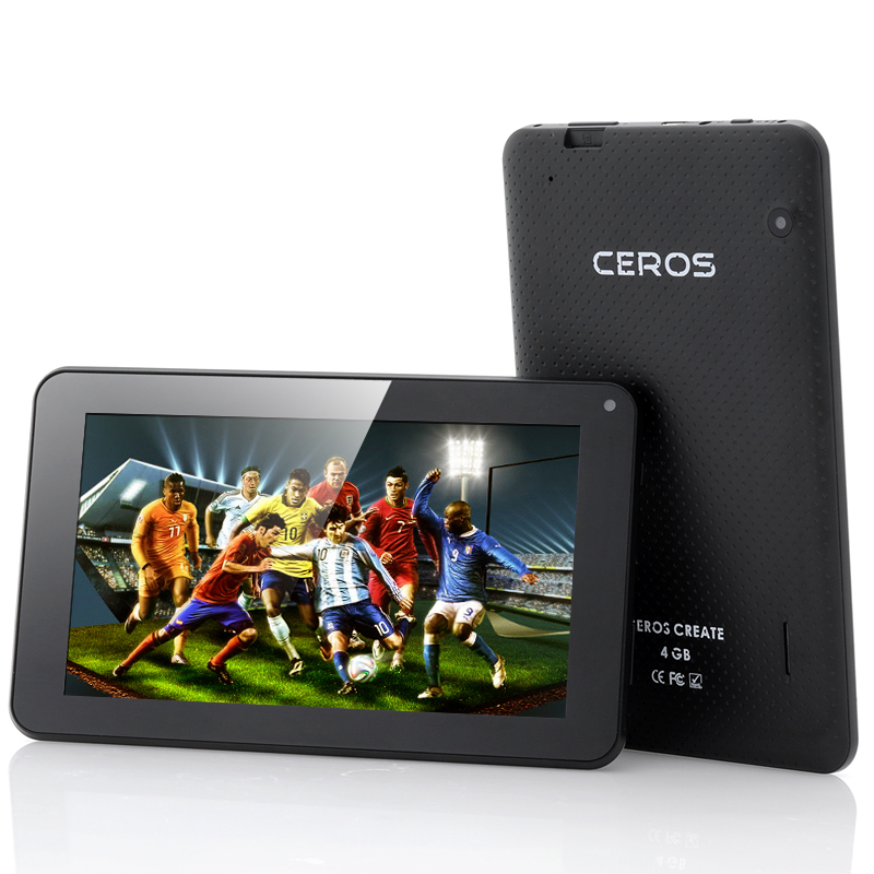 (M) E-Ceros Create 7 Inch Android Tablet (Black) (M)