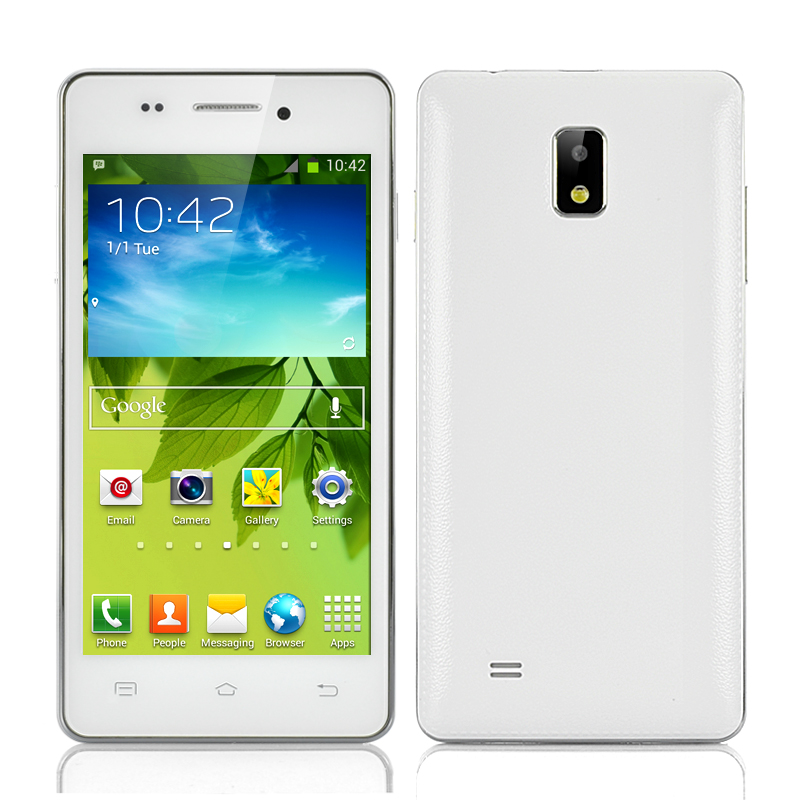 (M) 4.7 Inch 3G Android 4.2 Smartphone (White) (M)