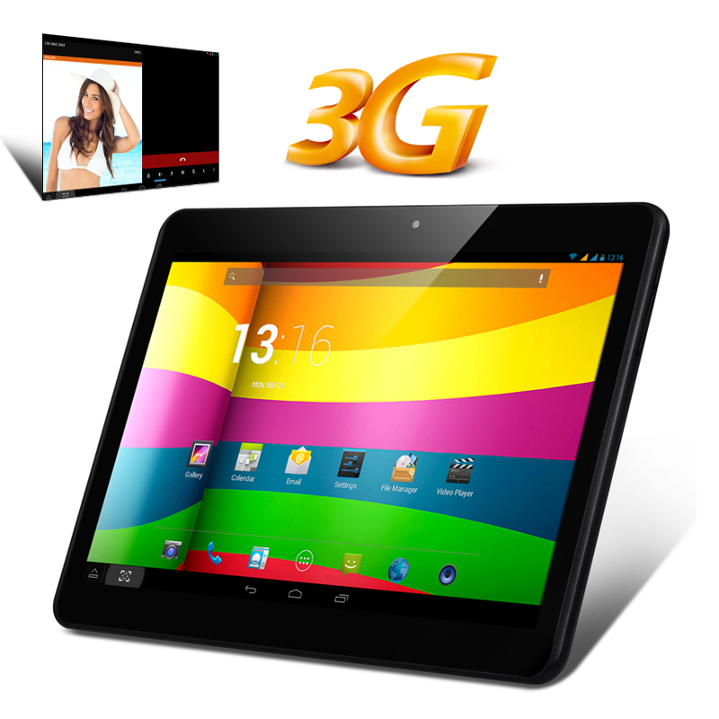 (M) 10.1 Inch IPS 3G Tablet PC (Black) (M)