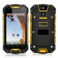Rugged Android 4.2 Mobile Phone - Quad Core MTK6589 1.2GHz CPU, Walkie Talkie Function, IP68 Waterproof Rating (Yellow)