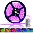 5 Meter 300x RGB Color Changing LED Strip - 72W, IP65 Waterproof Rating, IR Remote Control