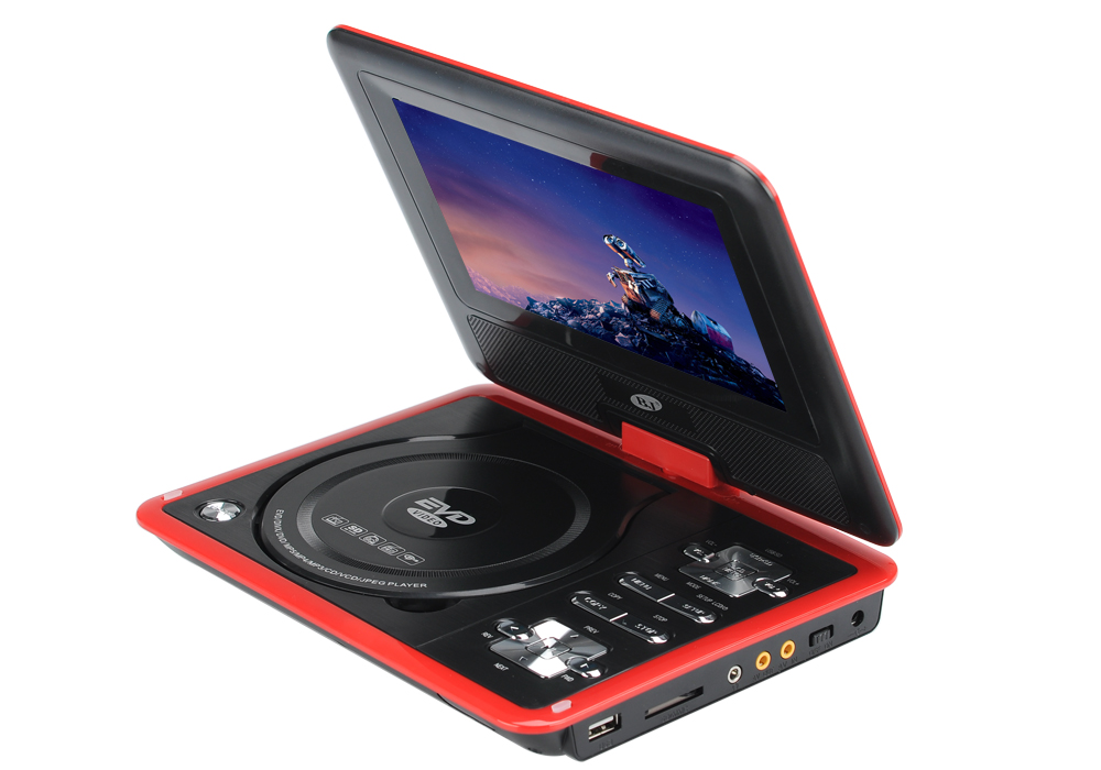Portable Exhibition Game : Dvd players inch portable player with game