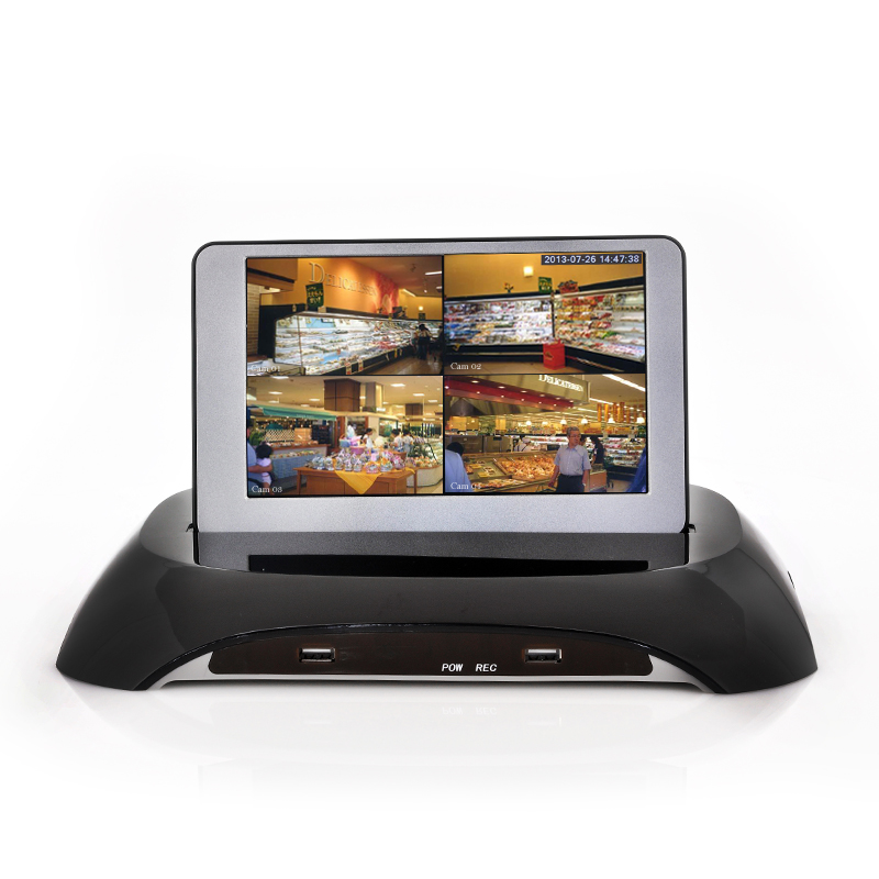 (M) DVR Security Kit With 7 Inch Detachable LCD (M)