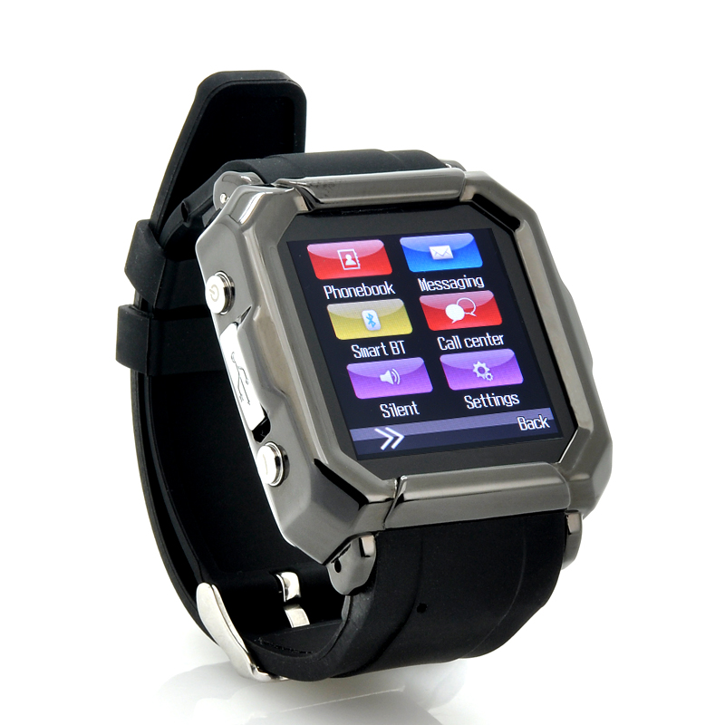 (M) Smart Watch Phone w/ SMS Sync - Iradish (M)