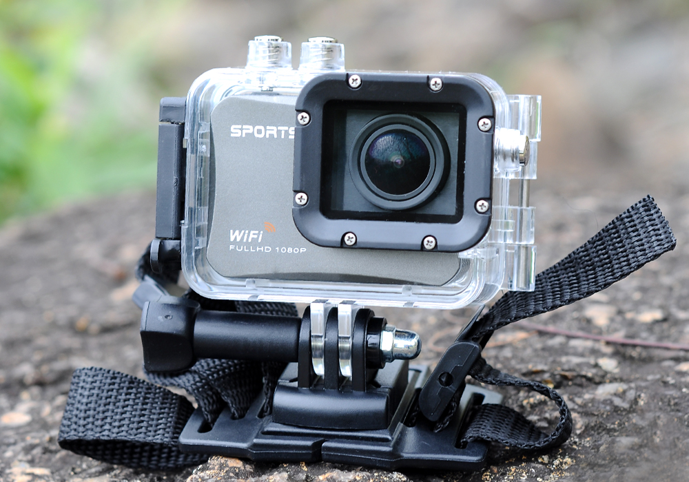 Ultra HD Sport Action Camera – 4K At 25FPS – 130 Degree View