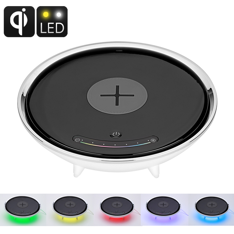 Wireless Charging LED Color Light - Millions Of Colors, Qi-Enabled Wireless Charging, Smart Home Accessory