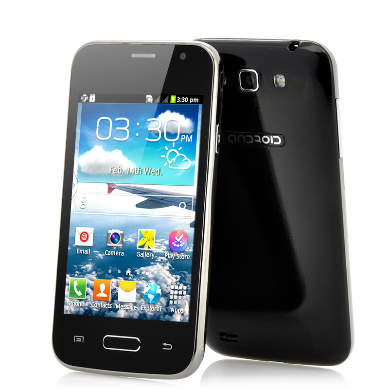 (M) 4 Inch Dual SIM Cheap Android Phone - Fly (B) (M)