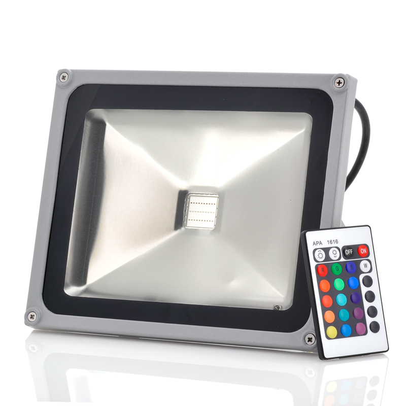 (M) Waterproof Outdoor Security LED Flood Light (M)