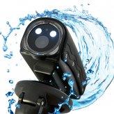 Mini HD Sports Camera (1080p, 30 Meter Waterproof, LED + Laser Light, HDMI)